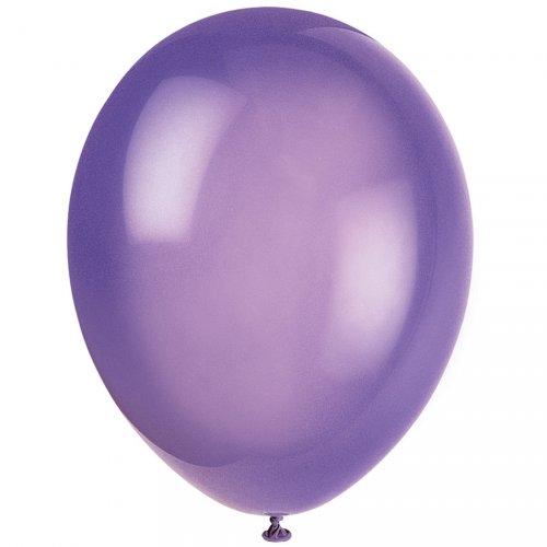 50 Ballons Crystal Violet foncé