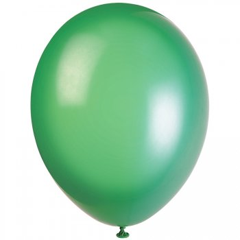 50 Ballons Crystal Vert Sapin
