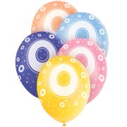 5 Ballons perl�s age 0