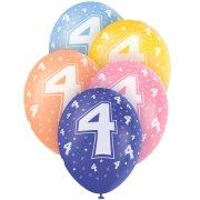 5 Ballons perlés age 4