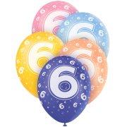 5 Ballons perlés age 6