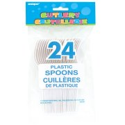 24 Cuillères Blanches