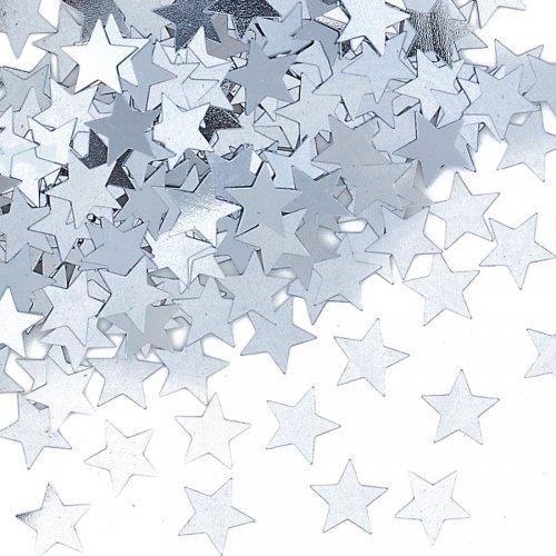 Confettis Etoiles Argent