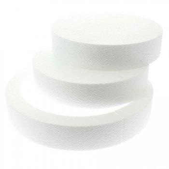 Ensemble disques polystyrène