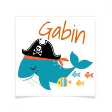 8 Tatouages à personnaliser - Pirate Ahoy!