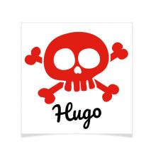 8 Tatouages à personnaliser - Pirate