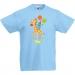 T-shirt à personnaliser - Girafe Happy Birthday. n°1
