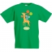T-shirt à personnaliser - Girafe Happy Birthday. n°2