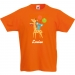 T-shirt à personnaliser - Girafe Happy Birthday. n°3
