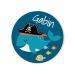 Badge à personnaliser - Pirate Ahoy!. n°1