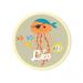 Badge à personnaliser - Pirate Ahoy!. n°3