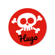 Badge à personnaliser - Pirate