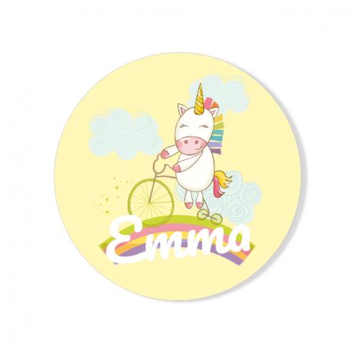 Badge à personnaliser - Licorne Baby