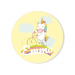 Badge à personnaliser - Licorne Baby. n°1