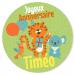 Fotocroc rond à personnaliser - Jungle Happy Birthday. n°4