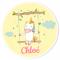 Fotocroc rond à personnaliser - Licorne Baby images:#0