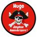 Fotocroc rond à personnaliser - Pirate Tête de Mort. n°3