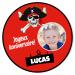 Fotocroc rond à personnaliser - Pirate Party Photo. n°1