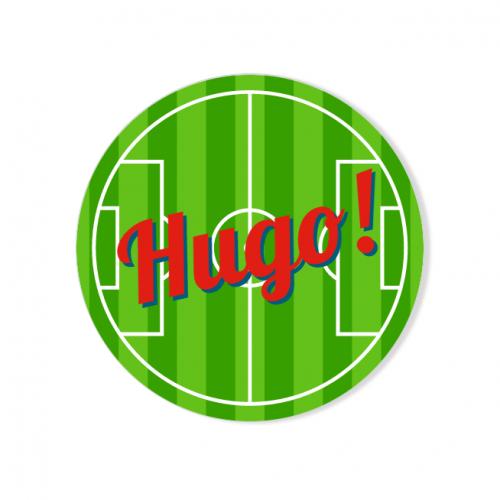 Badge à personnaliser - Terrain de Foot
