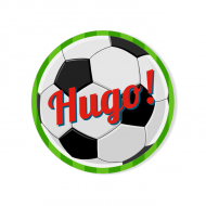 Badge à personnaliser - Ballon de Foot