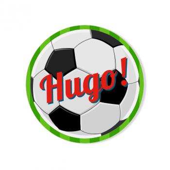 Badge à personnaliser - Ballon de Foot