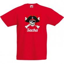 T-shirt à personnaliser - Pirate Tête de Mort