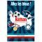 Invitation à personnaliser - Foot Allez les Bleus images:#0