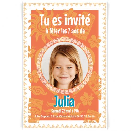 Invitation à personnaliser - Aiata