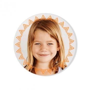 Badge à personnaliser - Maeva Photo