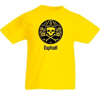 T-shirt à personnaliser - Emblème Pirate