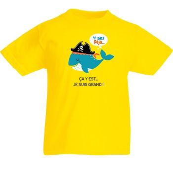 T-shirt à personnaliser - Baleine Ahoy!