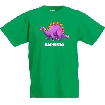 T-shirt à personnaliser - Dino Violet