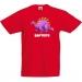 T-shirt à personnaliser - Dino Violet. n°3