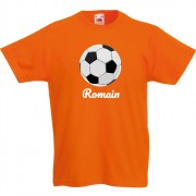 T-shirt à personnaliser - Ballon de Foot