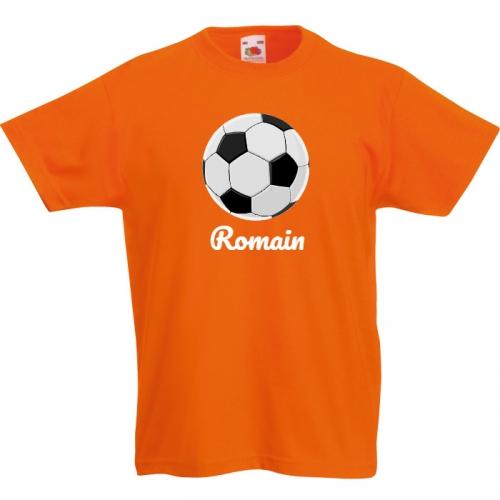 T-shirt à personnaliser - Ballon de Foot