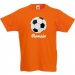 T-shirt à personnaliser - Ballon de Foot. n°1