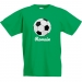 T-shirt à personnaliser - Ballon de Foot. n°2
