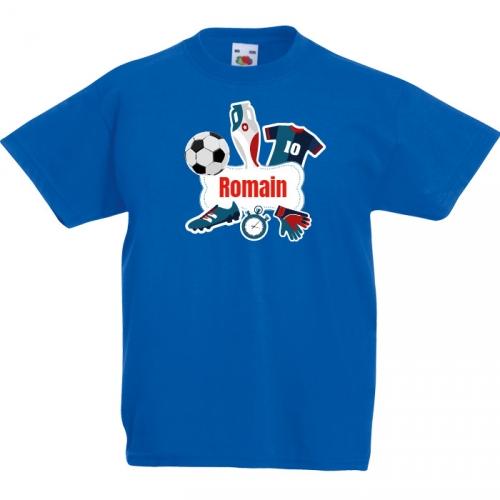 T-shirt à personnaliser - Allez les bleus !