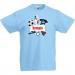T-shirt à personnaliser - Allez les bleus !. n°2