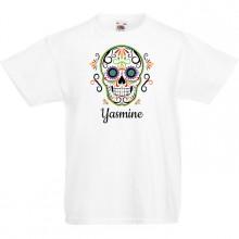 T-shirt à personnaliser - Calavera