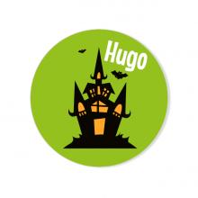 Badge à personnaliser - Maison Hantée