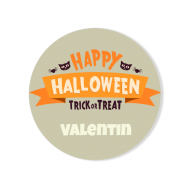 Badge à personnaliser - Happy Halloween