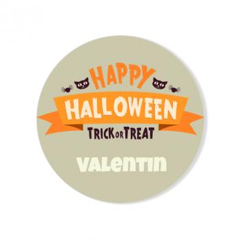 Badge à personnaliser - Happy Halloween