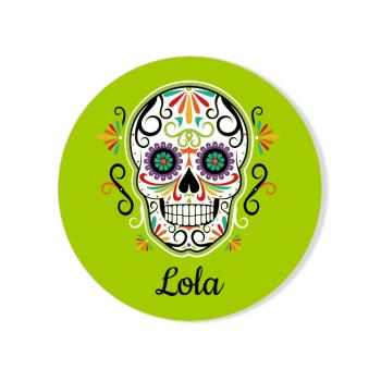 Badge à personnaliser - Calavera