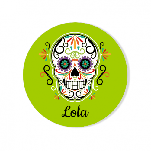 Badge à personnaliser - Calavera