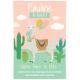 Invitation à personnaliser - Lama Rose
