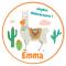 Fotocroc rond à personnaliser - Lama images:#2