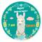 Fotocroc rond à personnaliser - Portrait de Lama images:#2