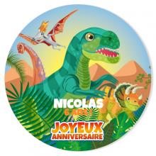 Fotocroc à personnaliser - Dino T-Rex