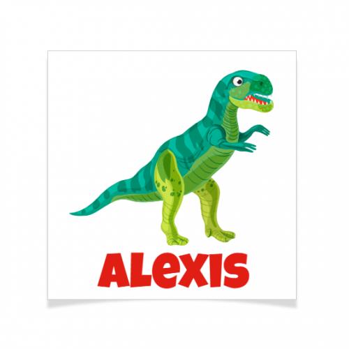 8 Tatouages à personnaliser - T-Rex
